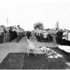 Funeral for Harold S. Blevins (officer), 1957