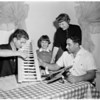 Reyes family building models, 1960