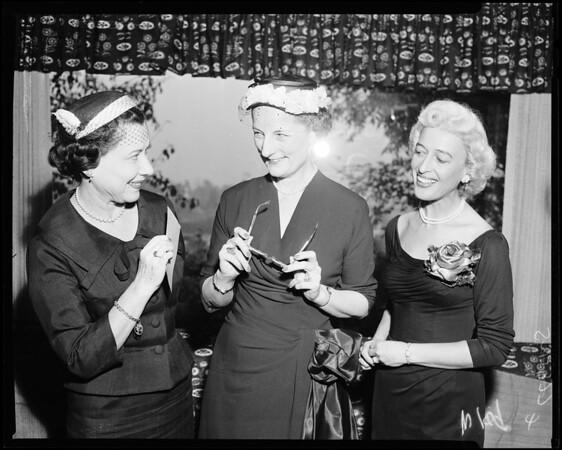 Spastic Children's League, 1958