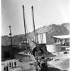 L.A. incinerator smokestack, 1952