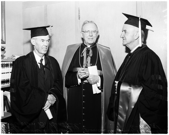 Loyola graduation, 1958
