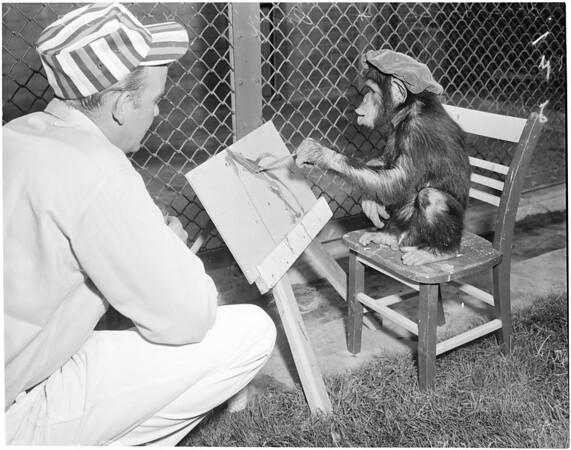 Griffith Park Zoo, 1957