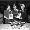 """Society"" -- Metropolitan Panhellenic scholarship luncheon, 1952"