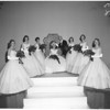 Rose Queen Coronation, 1958