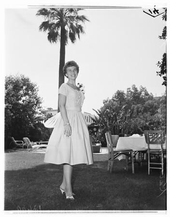 """Miss Crown City"" (Queen of Pasadena City Employees), 1959"