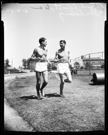 Track -- Compton relays -- Advance negatives, 1958