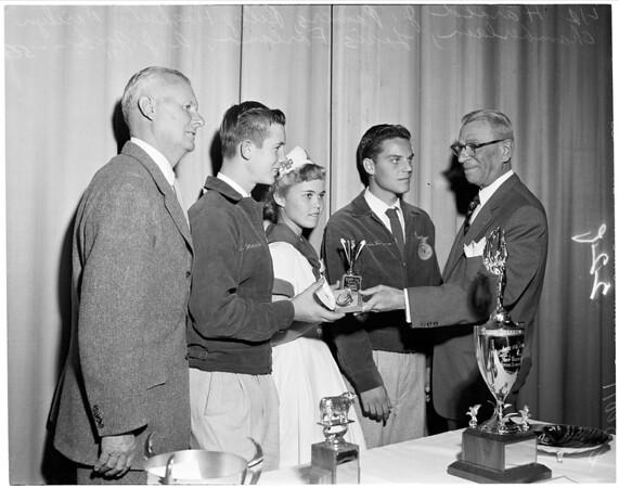 Stock show dinner, 1956
