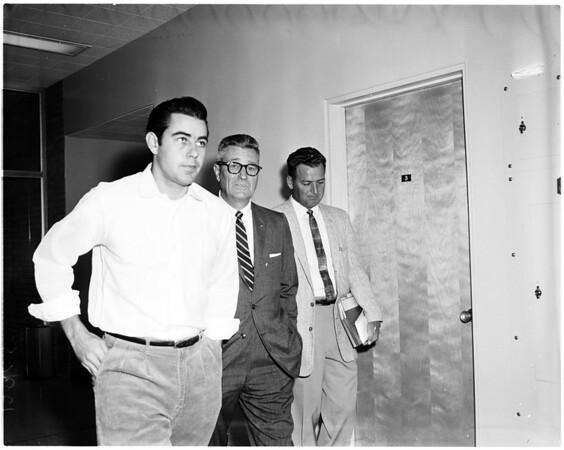 Culver City robbery trial, 1958