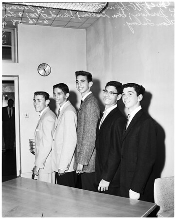 Top chemistry scholars in state and top math scholars, 1958