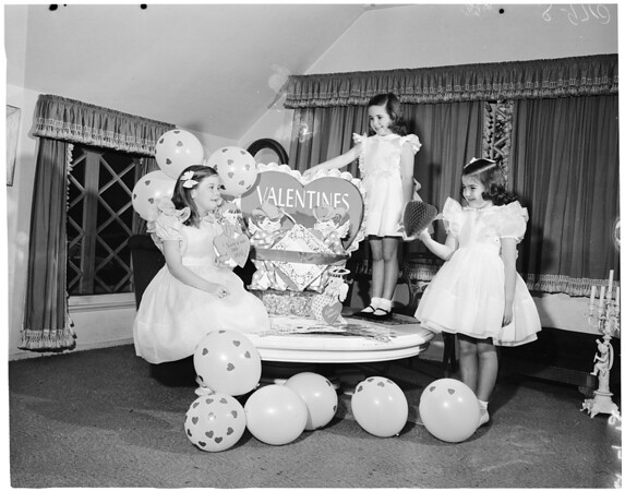 Valentine Ball for Bel Air Bay Club, 1953