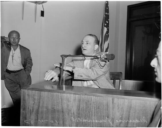 Greenwald inquest, 1957