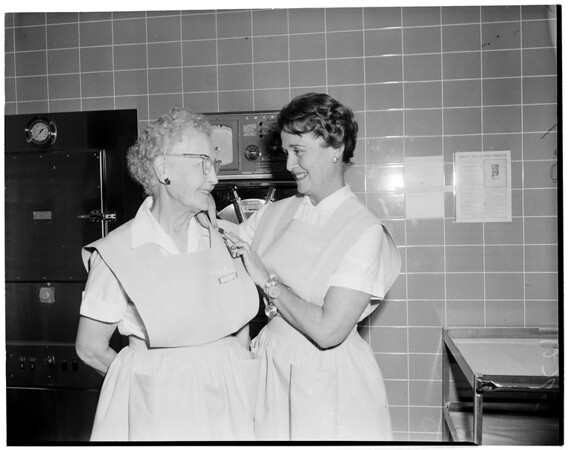 Volunteer worker feature (Orthopaedic Hospital), 1960