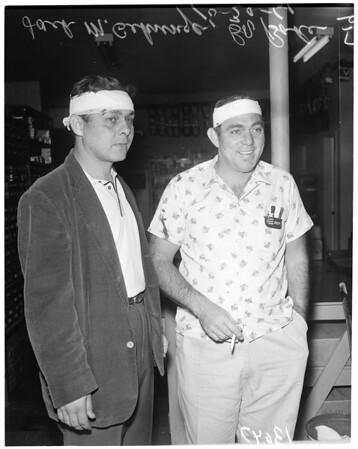Robbery at 3032 Bostonian Drive, Los Alamitos, 1961