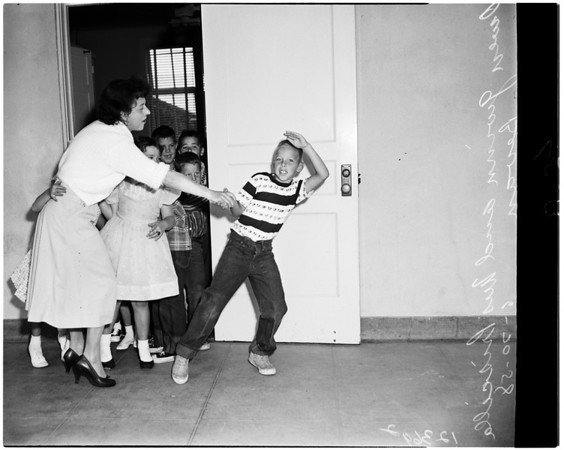 Last day of school, 1958