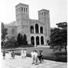 University of California Los Angeles's Royce Hall auditorium (for university feature), 1958
