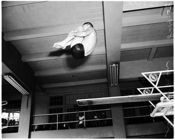 Swimming -- Los Angeles Athletic Club, 1958