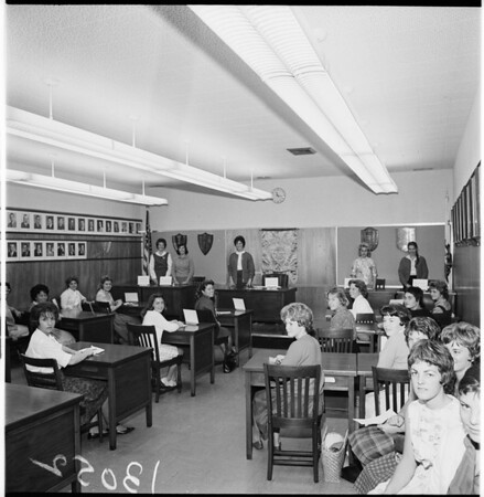 Santa Monica High School, 1961