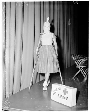 First Aid Fashion Show, 1959