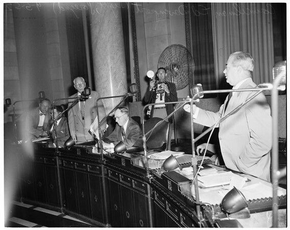City Council (housing), 1952