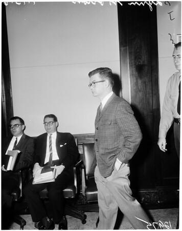 Morton trial (sentence), 1961
