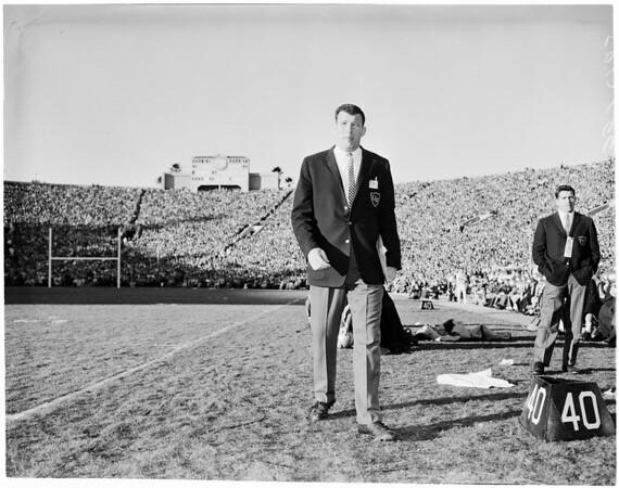 Football -- Rose Bowl, 1960