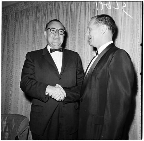 Testimonial dinner for Lieutenant Governor Anderson, 1961