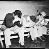 Floating dice players....Lincoln Heights jail, 1951