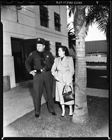 Narcotics suspect (Santa Monica station), 1951