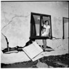 House smashed by waves (Redondo Beach, 518 The Strand), 1952