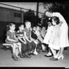 School, Vermont Avenue, first day, 1951
