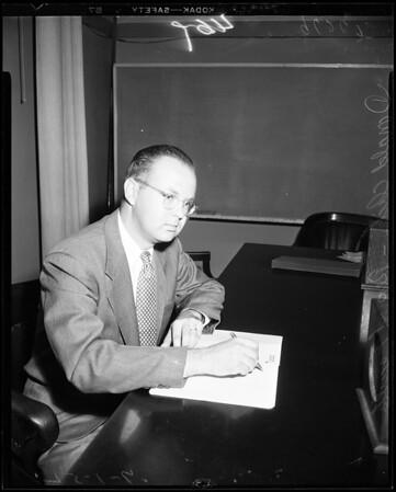 School budget, 1952