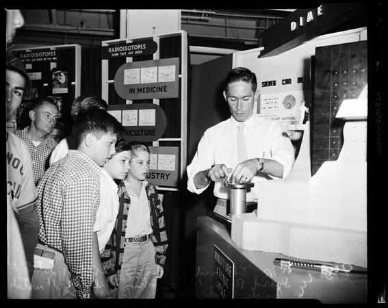 Atomic exhibition, 1954