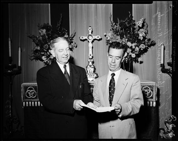 4th Western Jurisdictional Conference of Methodist Church (Santa Barbara), 1952