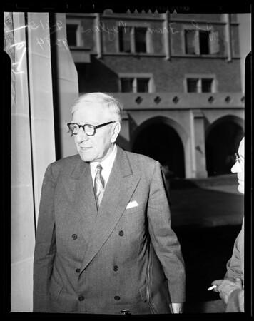 UCLA Chancellor, 1951