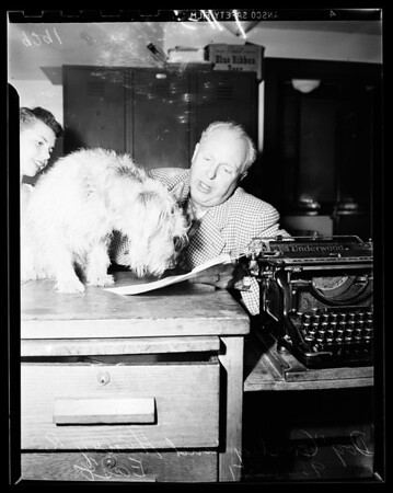 Change name of dog, 1951