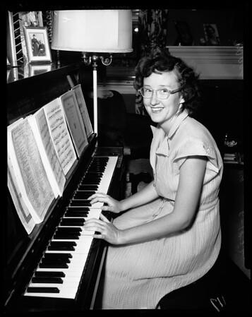 Mary Casey, 1952