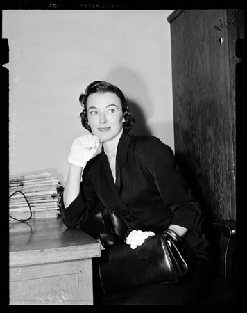 Child custody, Judge McKay's court, 1951