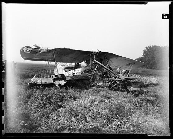 Plane crash (Canoga Park), 1951