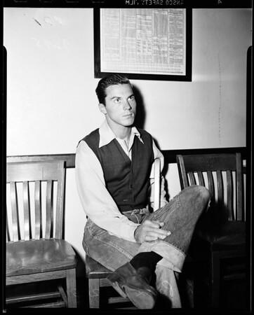 False report -- Beverly Hills police, 1951