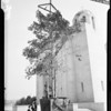 Greek church landscaping, 1951
