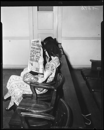 Mary Trombino, 1951