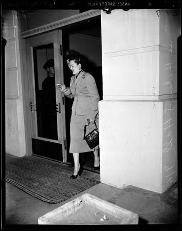 Narcotics suspect (Santa Monica station), 1951