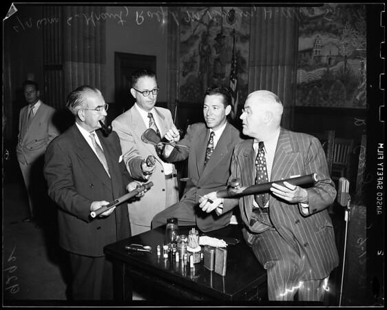 Narcotic hearing, 1951