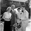 Carter reception, 1958