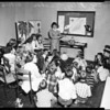 Dorothy Kelly (teacher) at Cowan Avenue School, 1952