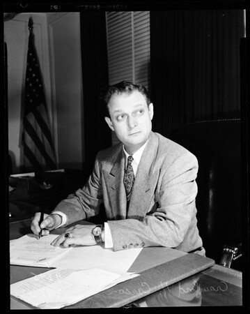 New Federal Bureau of Investigation head, 1951