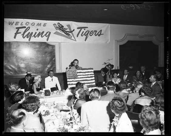 Flying tigers reunion, 1952