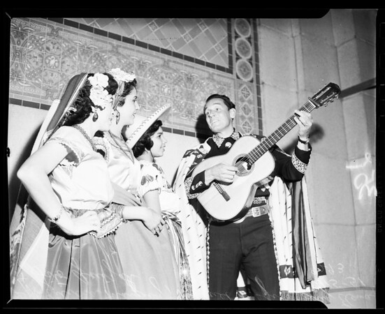 Mexican Independence celebration, 1951