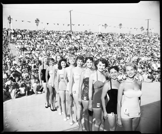 Huntington Beach celebration (beauty contest), 1952