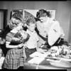 Dorothy Kelly (teacher) at Cowan Avenue School, 1952